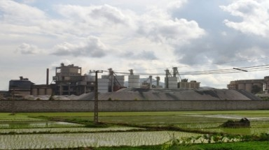 Cement, chemical plants arise, living standards degrade