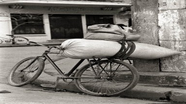 Black and white photos of old Hanoi by British diplomat