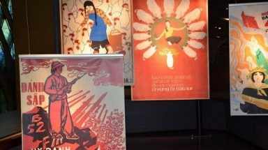 France exhibit posters honor courage, important roles of Vietnamese women