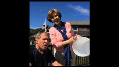 US diplomats banned from Ice Bucket Challenge