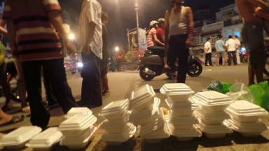Homeless masseur hunted for killing free meal giver