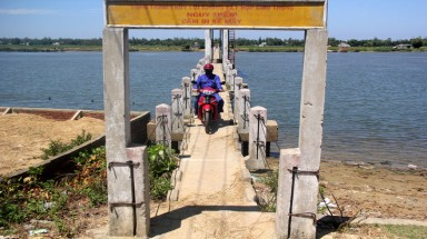 The 'bridge of death' in Quang Nam province