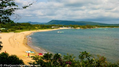 Beach resorts eat into forests on Phu Quoc