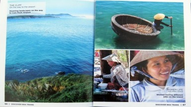 """Discover Nha Trang"" Magazine published by foreign men"