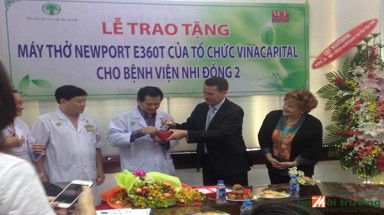 Ventilator to Improve Pediatric Care in Ho Chi Minh City: From Julie Ferne Memorial Trust to Children's Hospital No.2
