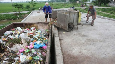 $7.6 million waste treatment plant opens in Hanoi