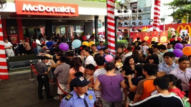 McDonald's sales show attractiveness of Vietnamese market