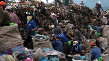 Urban solid waste is amounted to 30 million tons in 2020