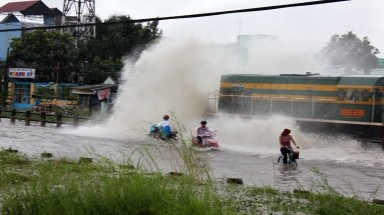 HCM City: suburb areas incur heavier flooding
