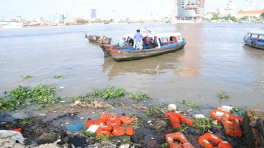 Vietnam's Saigon River poisoned to death