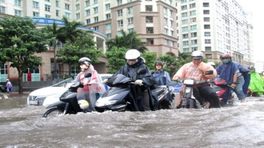 Vietnam metro is sinking, flooding easier