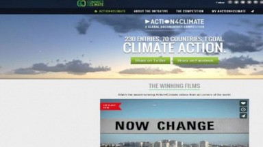 Documentary team wins prize in climate-change contest