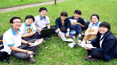 How are the four international universities in Vietnam?