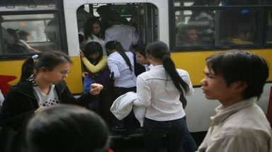 Hanoi may operate buses for women only to prevent sexual harassment