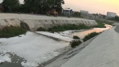 Restored HCM City canal polluted once again